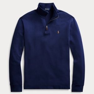 Ralph Lauren polo half zip-up sweater size XL